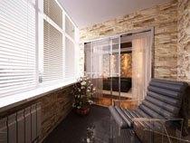 ремонт, отделка балкона в Самаре