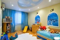 Ремонт и отделка детской комнаты в Самаре